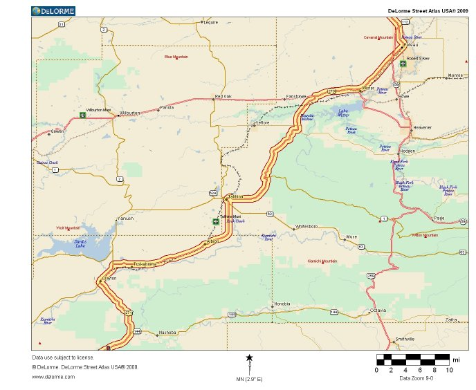 Map 4 - Click for larger version