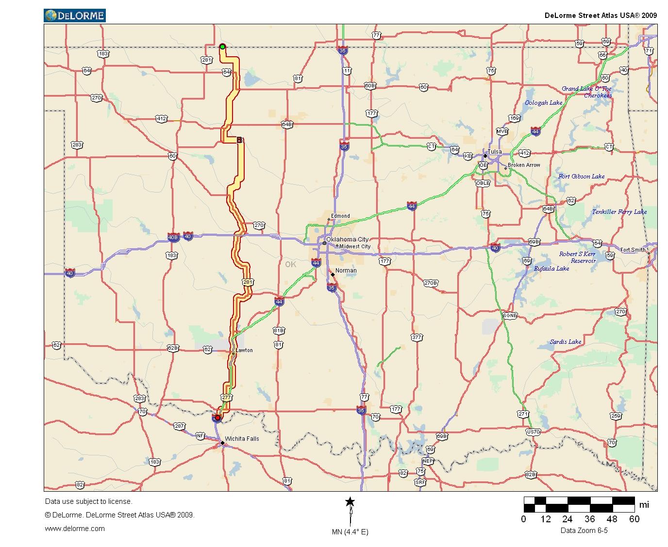 Oklahoma Highways Original Oklahoma Route 8